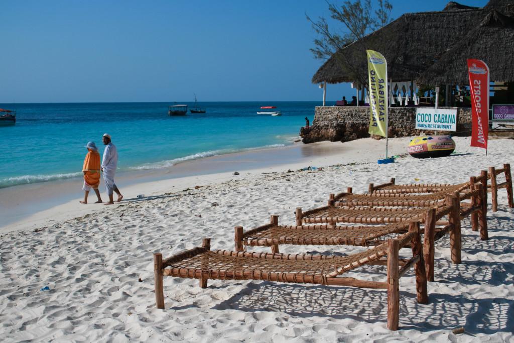Pláže Zanzibaru