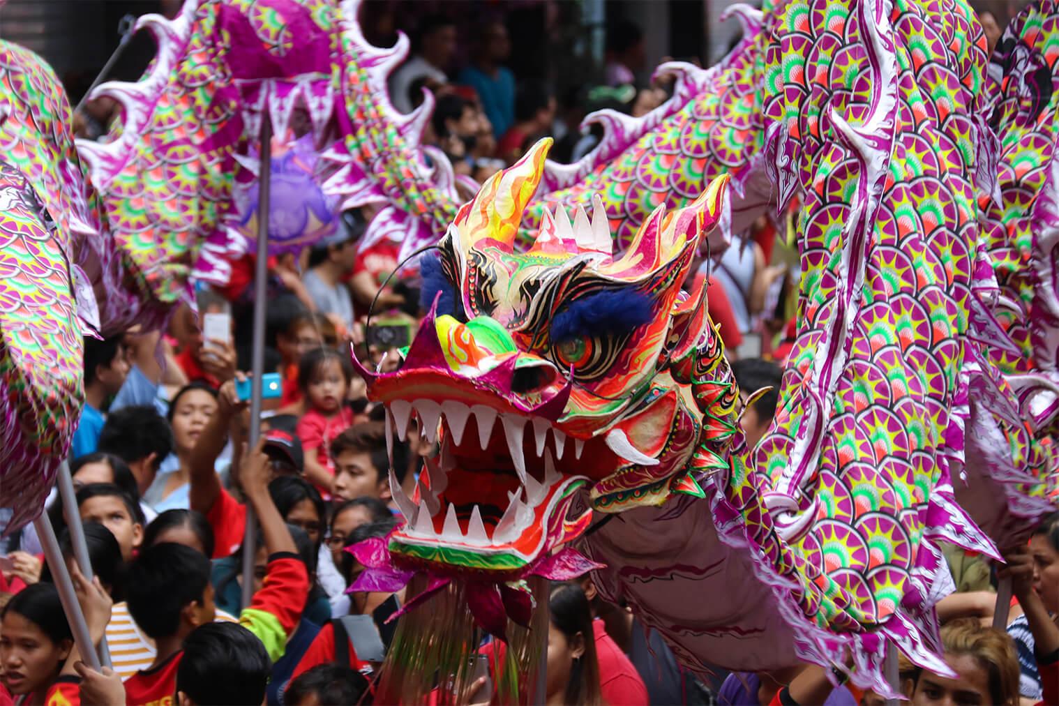 Čínsky nový rok v Manile