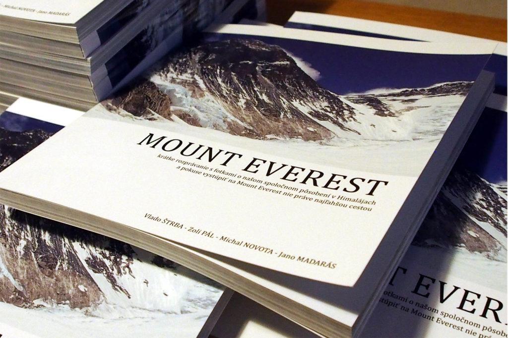 Súťaž o knihu Mount Everest