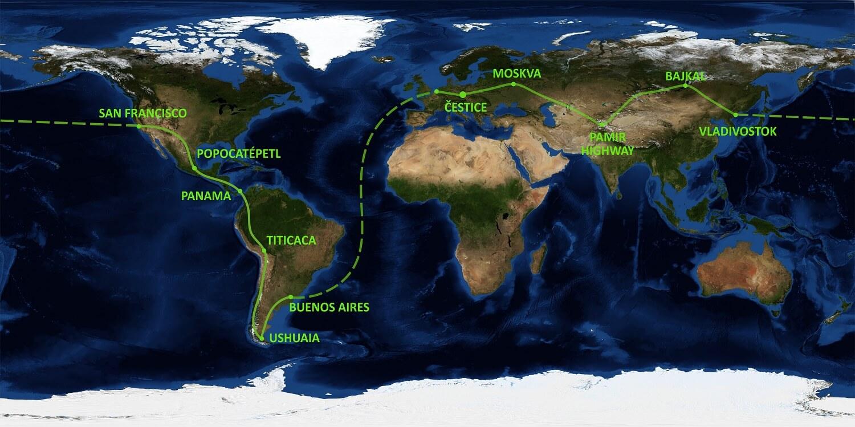 Kolem světa Žigulem: Prekážky nevidíme