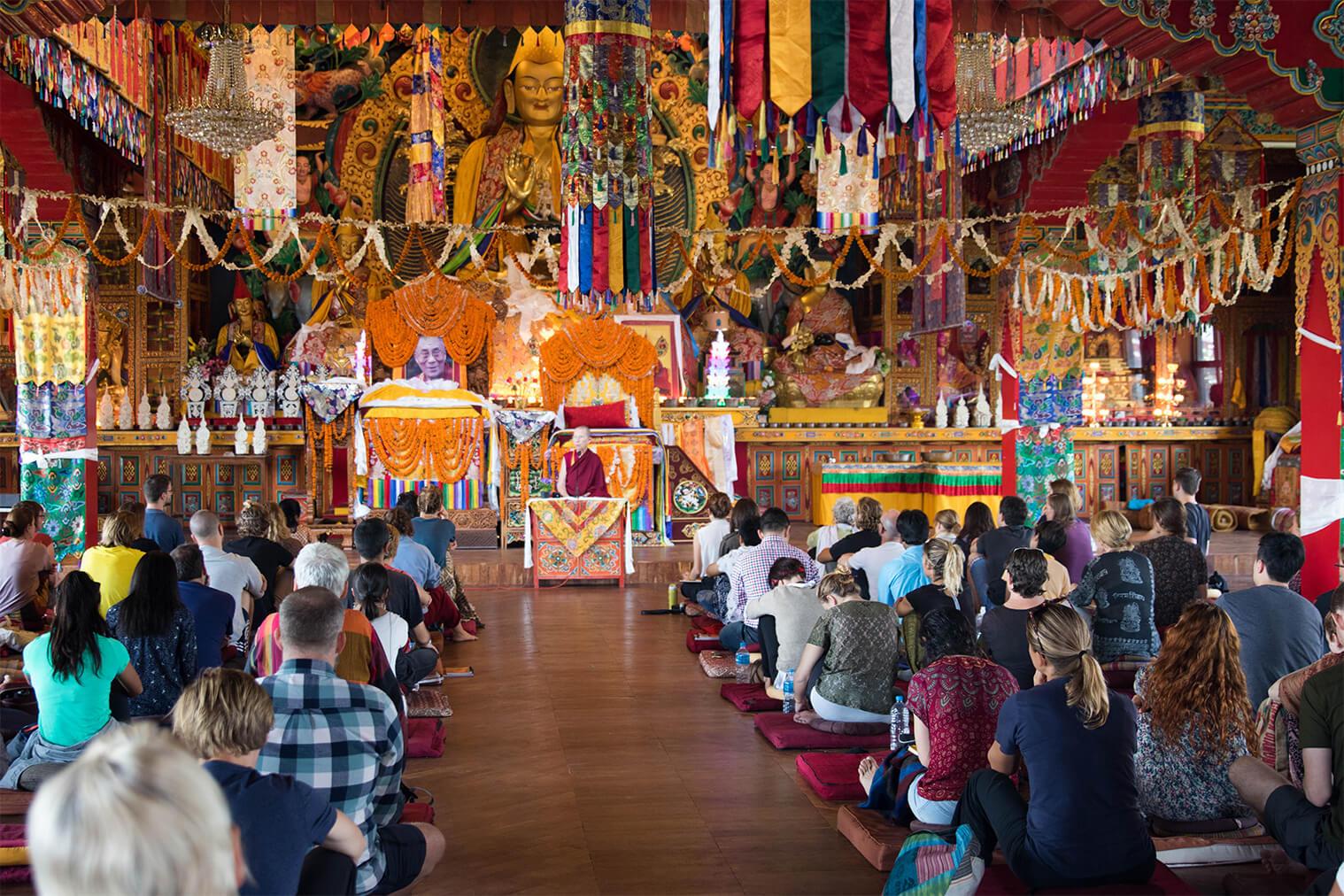 10 dní v budhistickom kláštore