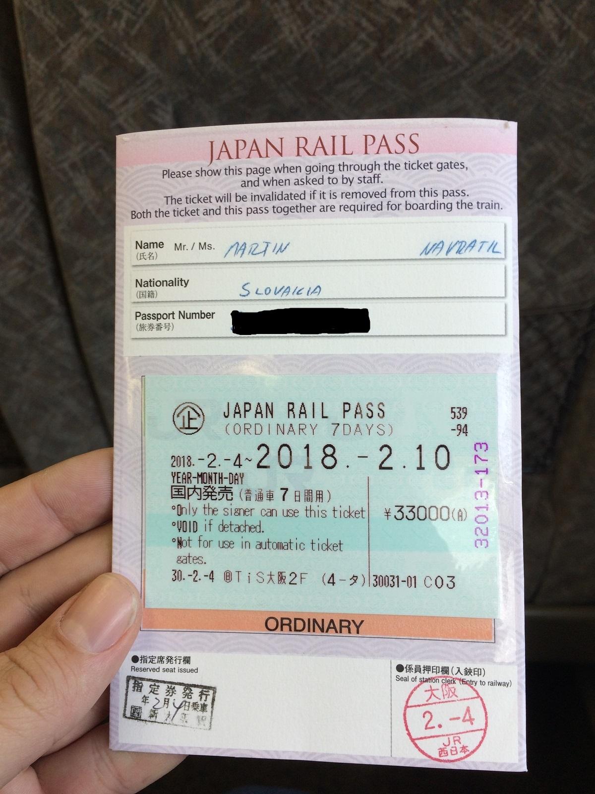 Návod ako prejsť šinkanzenom Japonsko