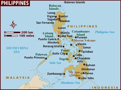 Filipíny - cestovateľské rady, tipy a itinerár