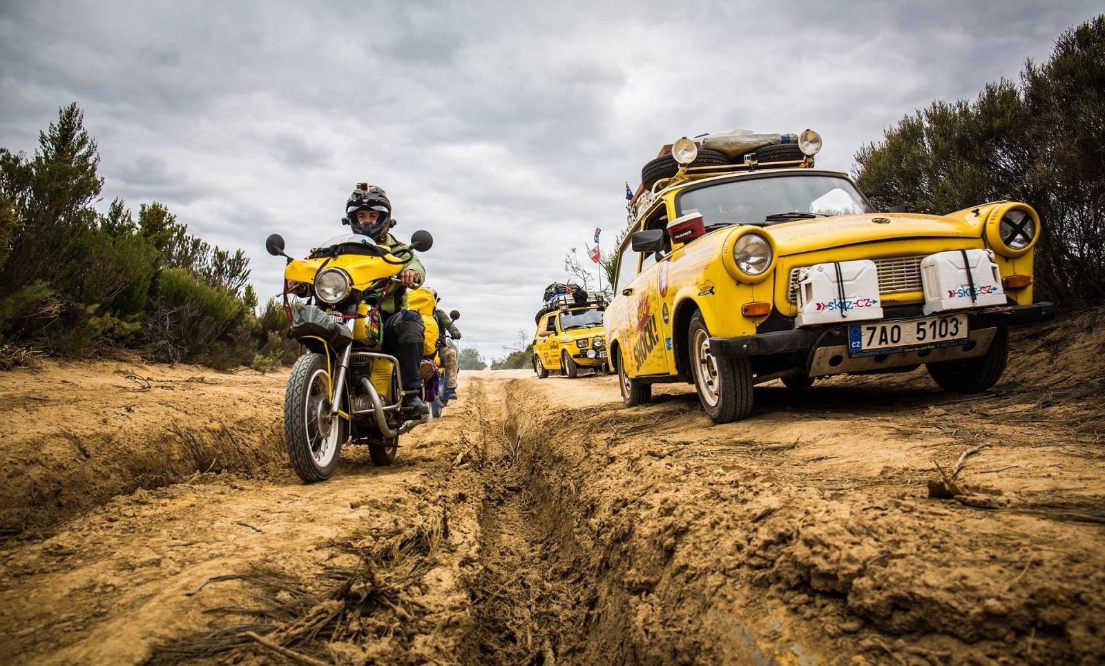 Marek Slobodník: Len sa na motorke neposrať!