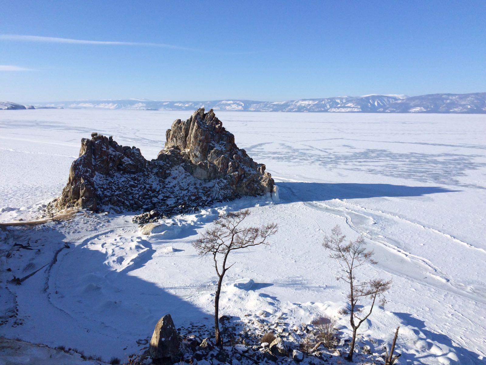 Jazero Bajkal alebo ako zažiť pravú ruskú zimu