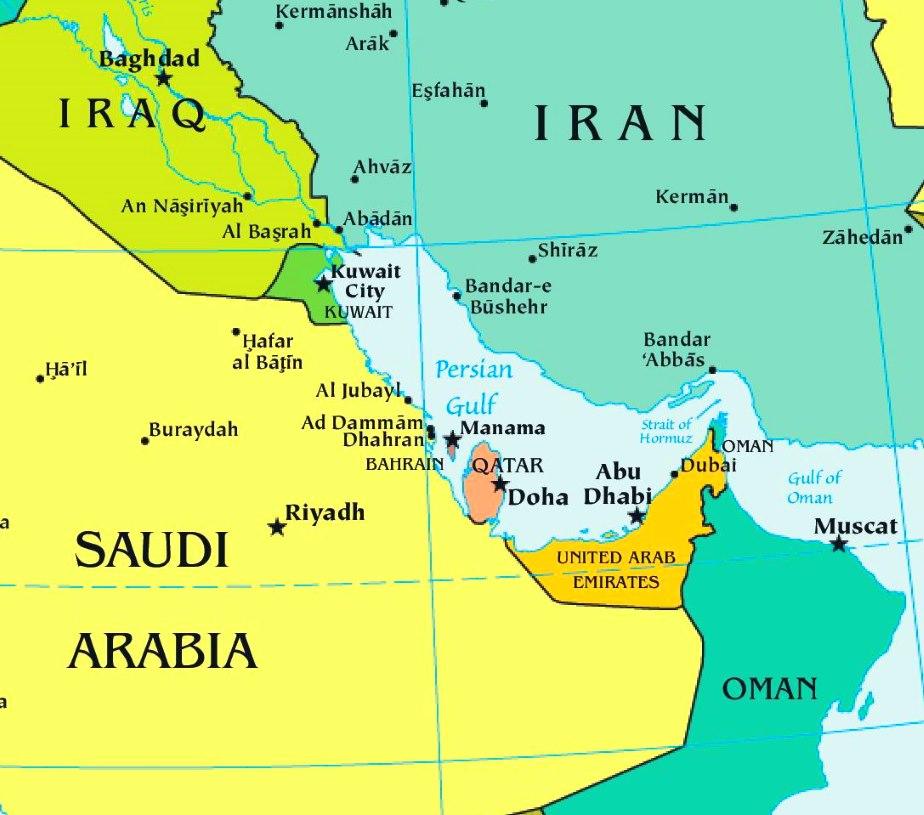 Kuvajt, Bahrajn, Katar, Spojené arabské emiráty, Omán – cestovateľské rady, tipy a itinerár