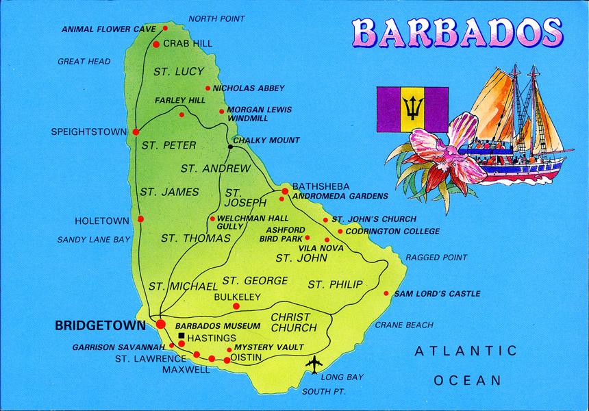 Barbados - cestovateľské rady, tipy a itinerár
